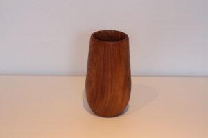 Vase i elm, Ø 11 cm x H 30 cm