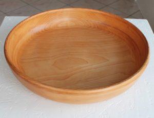 Fad i birk, Ø 35 cm x H 7 cm
